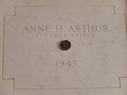 Anne Helen <i>Finlayson</i> Arthur