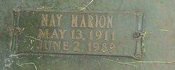 May <i>Marion</i> Madan