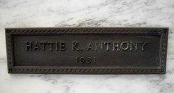 Hattie <i>Kimble</i> Anthony