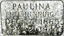 Paulina Jos. <i>Hennig</i> Beilke