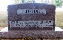 Warren E Eldridge