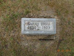 Sarah <i>Jones</i> Davis