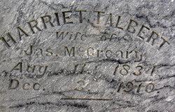 Harriett <i>Talbert</i> McCreary