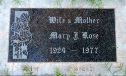 Mary Josephine <i>Brennan</i> Rose