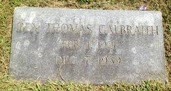 Ben Thomas Galbraith