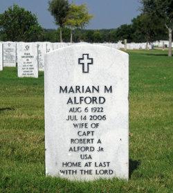 Marian <i>Markham</i> Alford