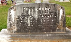 Mary Lucinda <i>Adams</i> Pennington