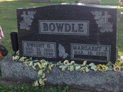 Margaret J <i>Shilling</i> Bowdle