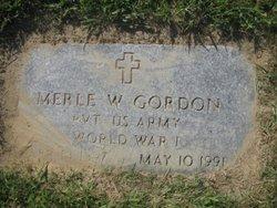 Merle W Gordon
