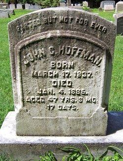 Pvt John G Hoffman