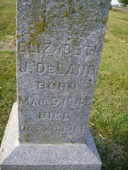 Elizabeth Jane <i>Smith</i> DeLand