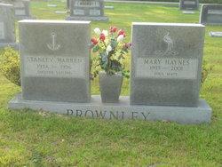 Mary <i>Haynes</i> Brownley