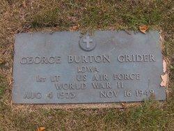 George Burton Grider