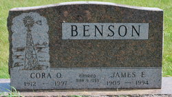 Cora O. <i>Bonrud</i> Benson