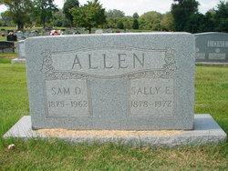 Sally Elizabeth <i>Bullock</i> Allen