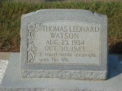 Thomas Leonard Watson