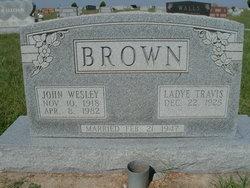 Ladye <i>Travis</i> Brown