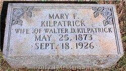Mary Flora <i>Goins</i> Kilpatrick