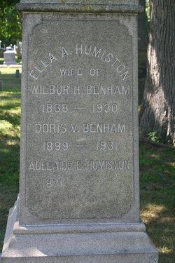 Ella <i>Humiston</i> Benham