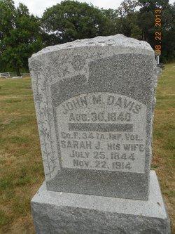 Sarah J <i>Ruark</i> Davis