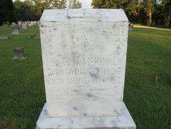 Rev William H. McKinney