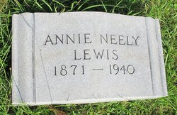 Annie <i>Neely</i> Lewis