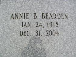 Annie Jane <i>Blankenship</i> Bearden
