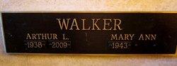 Arthur L Walker