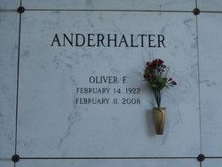 Oliver F Bud Anderhalter
