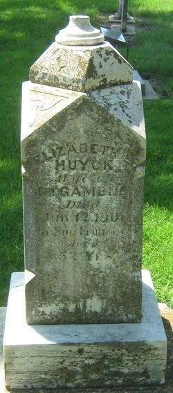 Elizabeth Ellen <i>Huyck</i> Gamble
