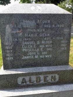 Maria <i>Dean</i> Alden