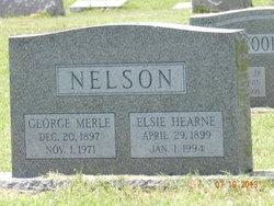 Elsie <i>Hearne</i> Nelson