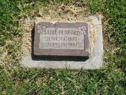 Sarah Jane Sadie Dunford