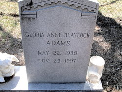 Gloria Anne <i>Blaylock</i> Adams