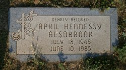 April H <i>Hennessy</i> Alsobrook
