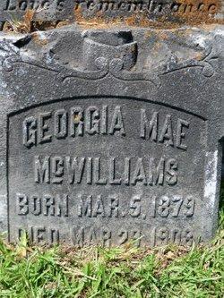 Georgia Mae McWilliams