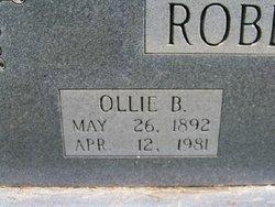 Ollie B. Roberson