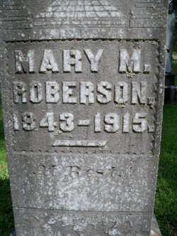 Mary M, Roberson