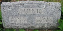 Myron C Bond