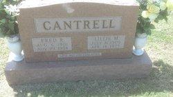 Lillie M <i>Poindexter</i> Cantrell