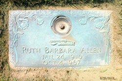 Ruth Barbara <i>Wetzel</i> Allen