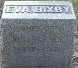 Eva B <i>Bixby</i> Barnes
