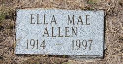 Ella Mae <i>Willis</i> Allen