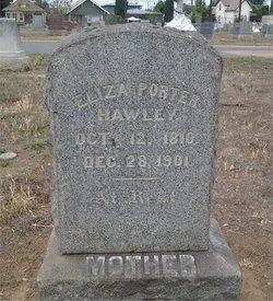 Eliza <i>Porter</i> Hawley