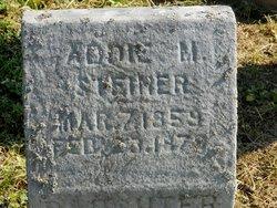 Addie M Steiner