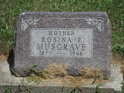 Rosina Florence <i>McCalley</i> Musgrave