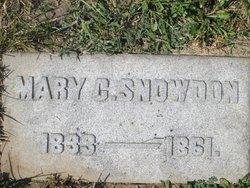 Mary C <i>Sutler</i> Snowden