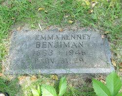 Emma <i>Kenney</i> Benjamin