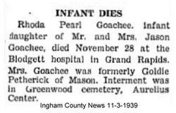 Rhoda Pearl Goachee