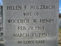 Helen Elizabeth <i>Holzbach</i> Henry